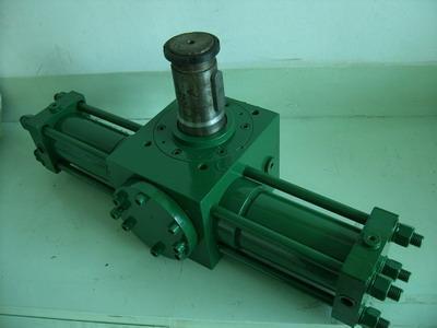 """100 """"水泥彩瓦机摆动油缸""""详细介绍        jc系列齿轮齿条摆动液压图片"""