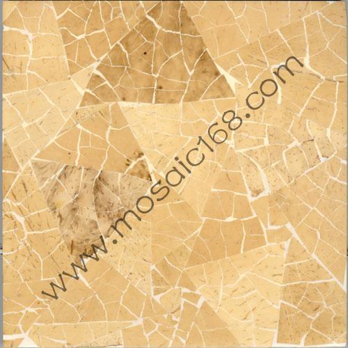 椰壳马赛克(mosaic)是采用热带地区椰子树上的