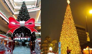 圣诞装饰方案-酒楼春节布置氛围图片