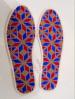 简单手工鞋垫花样