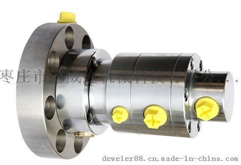 德威迩公司成功研发课题台湾裕和RT2216-07-II液压双回路高速液压旋转接头