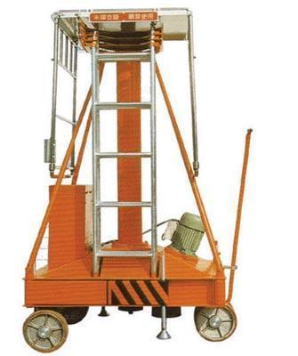 产品目录 制造加工机械 起重设备 起重机械 03 铝合金液压升降台图片