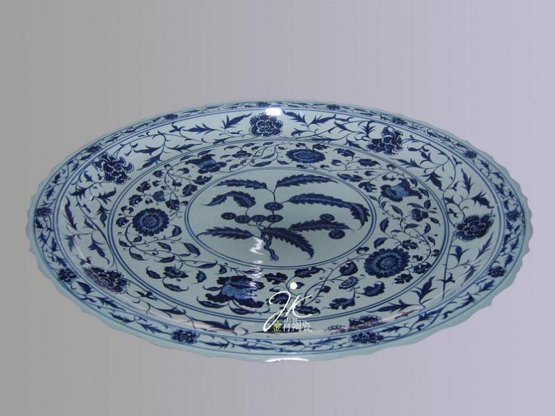 陶瓷大盘子(jk0808536)