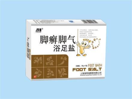 神州神药业脚癣脚气浴足盐(30g)【批发价格,厂家,