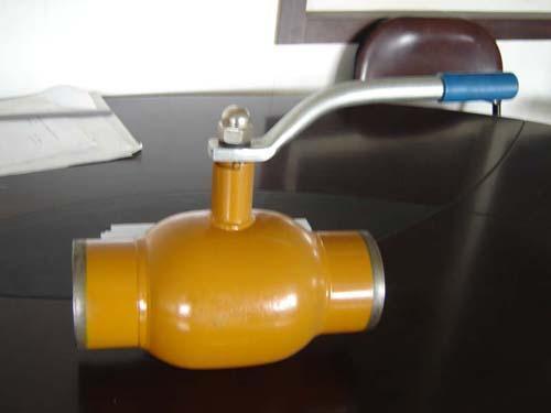 钢制全焊接球阀图片