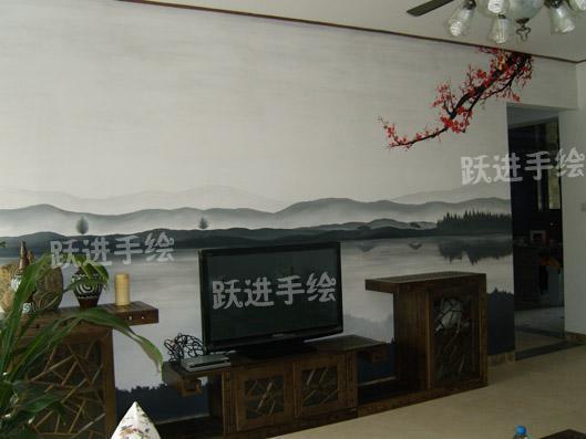 手绘墙画(yj018)