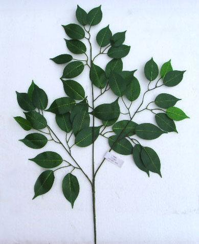 工艺品 花卉,盆景和装饰植物 榕树叶