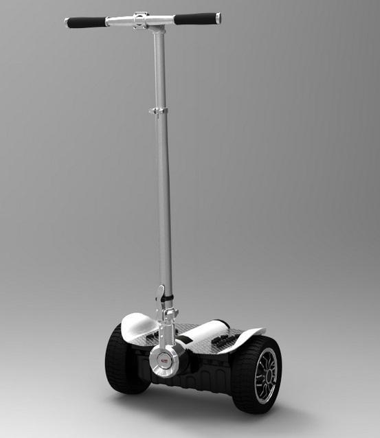 骑客智能平衡车的运作原理主要是飞机平衡的原理,也就是车辆