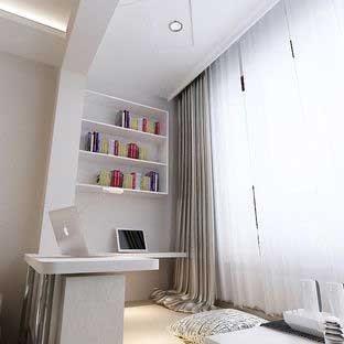 窗台榻榻米适合的装修房间图片