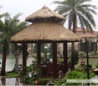 是仿天然茅草屋顶最理想的装饰材料