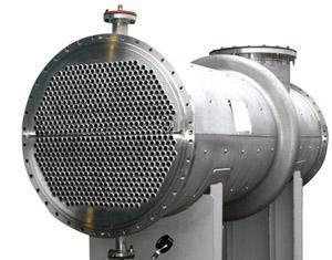不锈钢管式冷却器_壳管式水冷冷凝器_不锈钢冷凝器