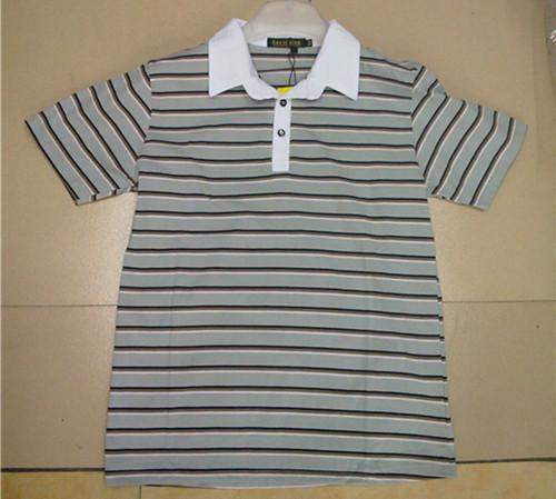 男装条纹t恤 -3