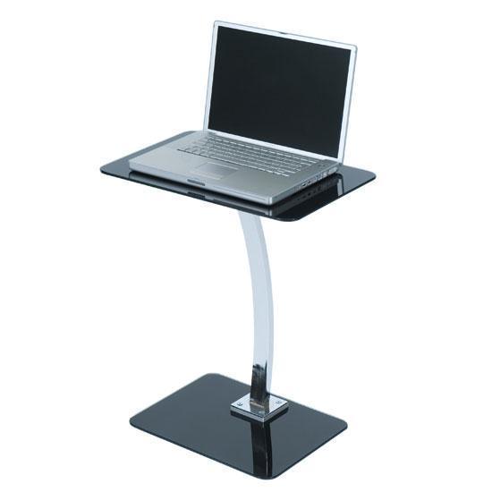 钢化玻璃笔记本电脑桌