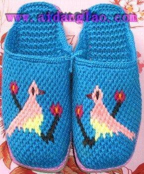编织棉鞋花样图纸