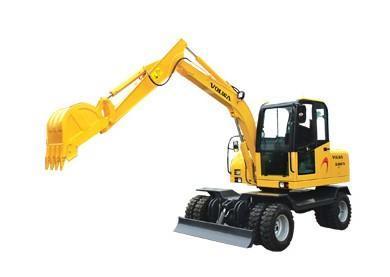 6吨轮式双驱液压挖掘机(dls865-9a)