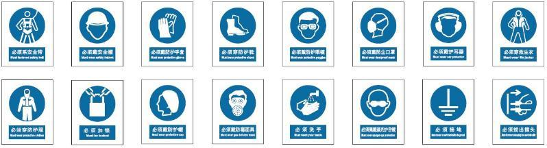 产品列表 03 国标安全标识-强制类   订货量(件) 价格(元/件) ≥1