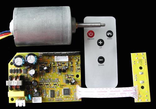 无叶风扇电机和控制器
