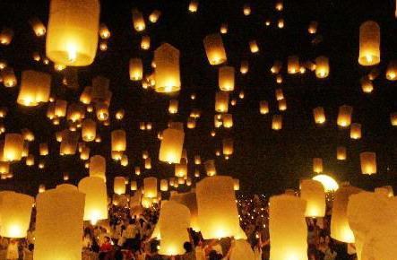 孔明灯图片,孔明灯高清图片-北京大唐孔明灯厂