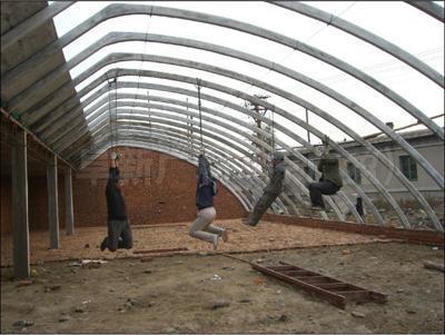 钢大棚骨架价格_自动日光温室大棚镀锌几型钢骨架价格_金属材