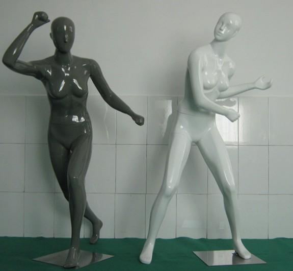 运动女服装模特