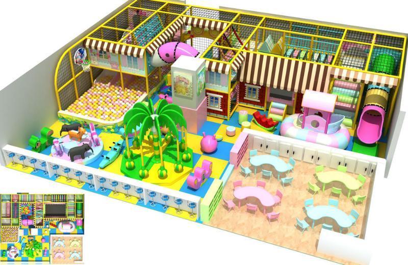室内淘气堡乐园,儿童游乐设备