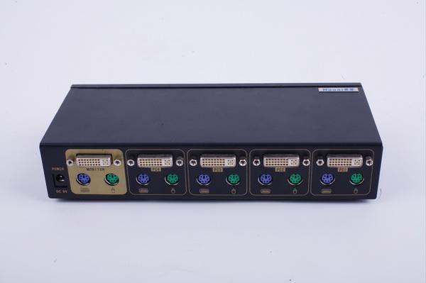 多主机切换器_分享到: 产品详情        产品介绍:     多主机dvi kvm 切换器能够