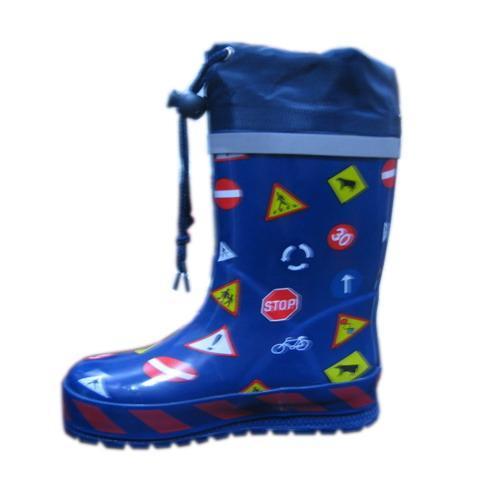 领口款儿童橡胶雨鞋