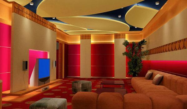家庭影院装修同时和风管机可以新风开么图片