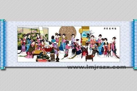 十字绣 - 琴棋书画(11ct)