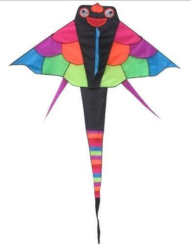 七彩鱼风筝
