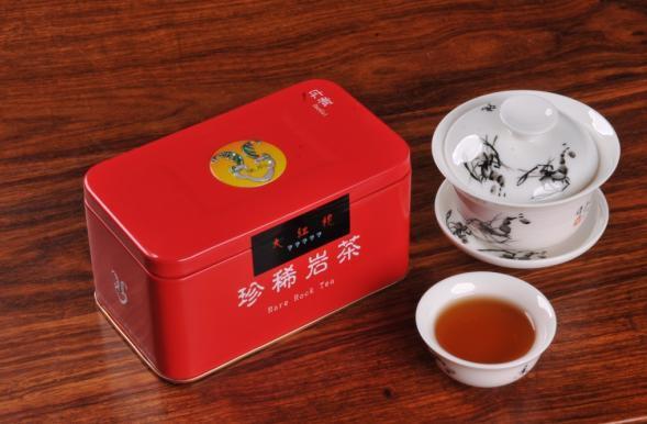 大红袍茶叶罐图片