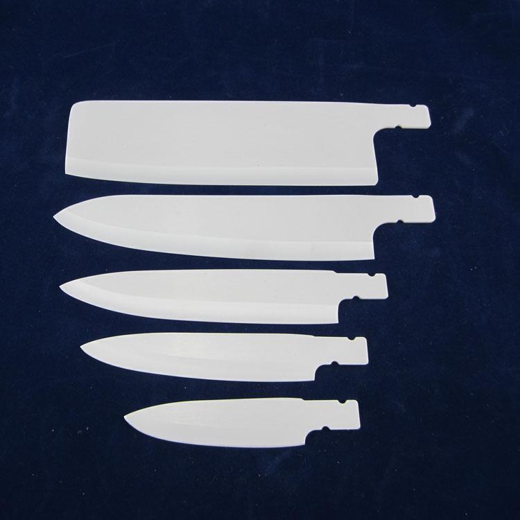 亿宁陶瓷刀生产工艺分几个步骤:     1,混合配料:球磨→振磨