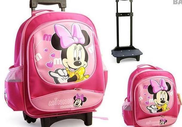 2012新款时尚流行化妆包 儿童可爱卡通拉杆书包 保温野餐冰包袋图片