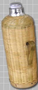 竹壳热水瓶图片