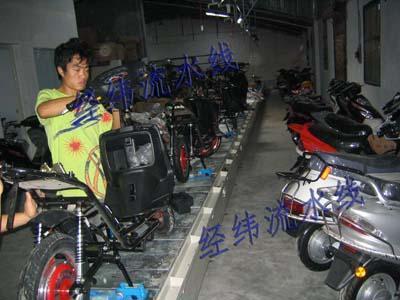 电动车流水线 JW DX 30高清图片