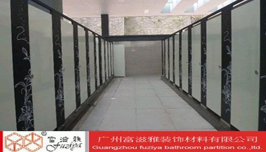 银行卫生间隔断银行玻璃隔断柜台图片6