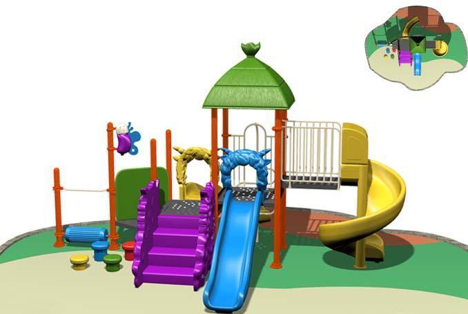 幼儿园儿童组合滑梯