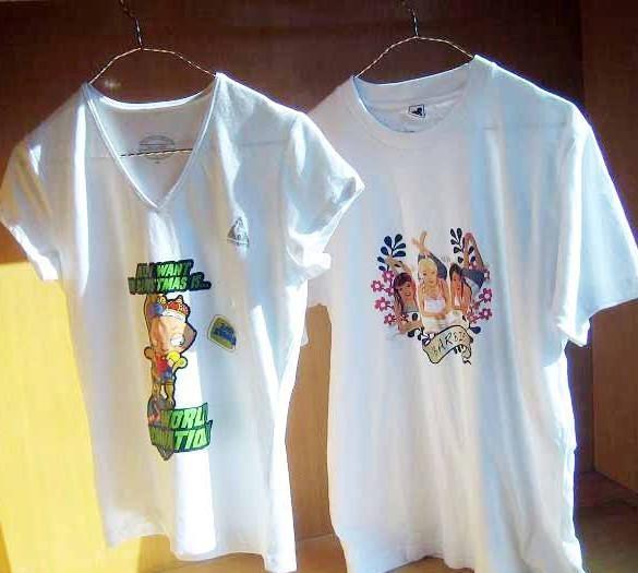 热转印个性时尚纯棉烫画t恤-其他服装-电子商务网站