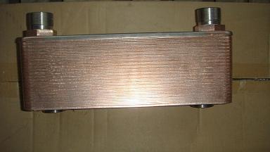 水冷不锈钢板式油冷却器图片