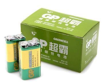 成都超霸9v电池图片
