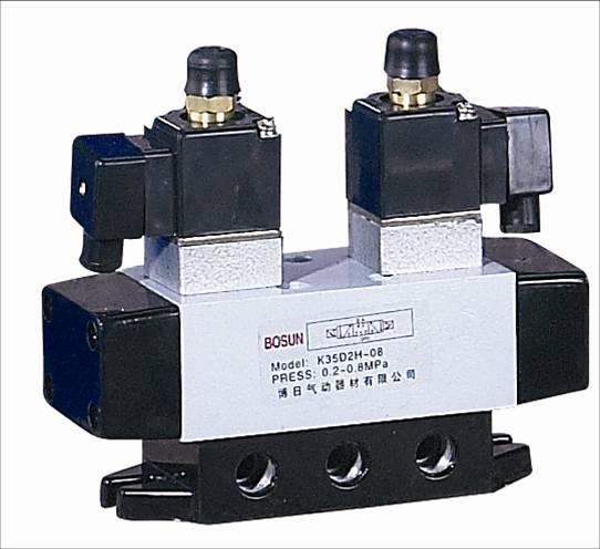 k35d2h-10三位五通换向电磁阀图片