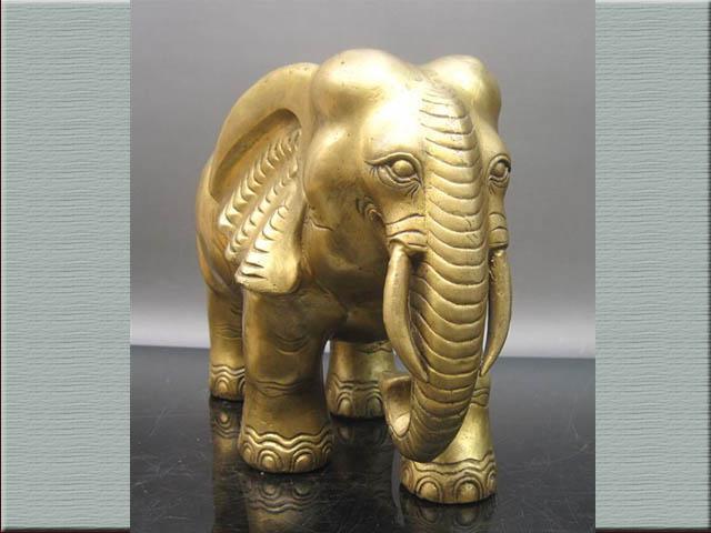 动物头铜雕图片