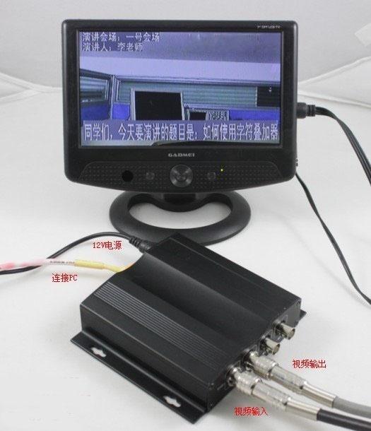 视频会议字幕机叠加器 NE ZM 9013