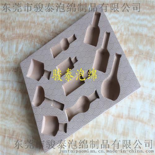 定制高档EVA酒盒礼盒包装内衬 环保EVA雕刻包装绵内托