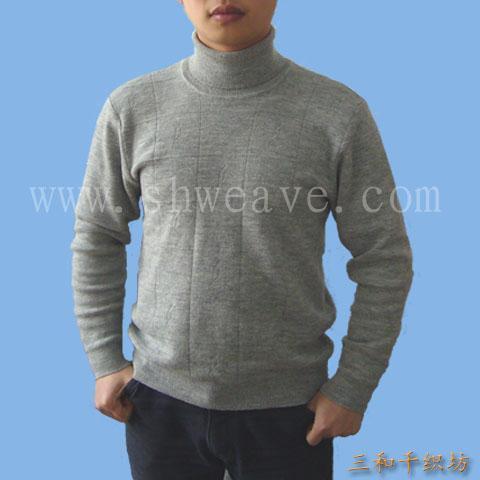 男高领毛衣图片,男高领毛衣高清图片-三和编织毛线坊