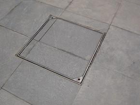 """形状: 方形 材质: 复合材料 适用范围: 雨水井盖 """"下沉式窨井盖""""详细图片"""