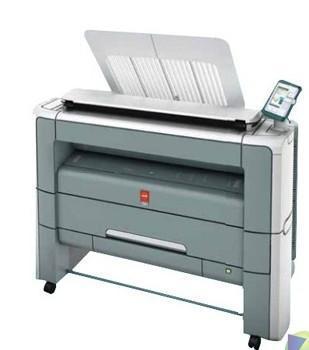 工程复印机大图激光蓝图打印机图片,奥西PW300二手工程复印机大