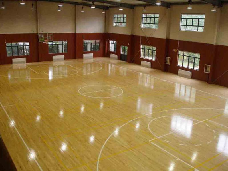 pvc地板室内外篮球场建设施工