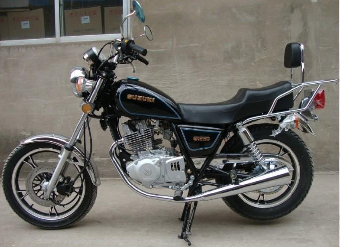 suzuki太子摩托车(gn250)
