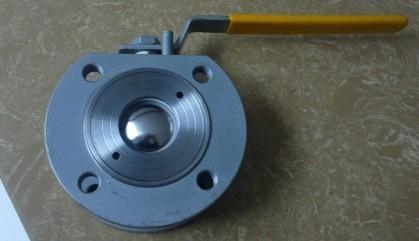 不锈钢对夹球阀 (q71f-16p)图片